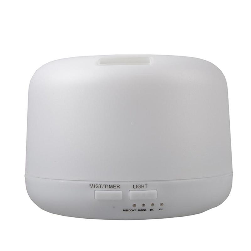 ninror 160ML Volcano Humidifier Mini Air Diffuser Purifier With USB LED Night Light (Black) - intl Singapore