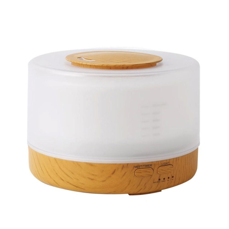 ninror Cool Mist Humidifier Home Fragrance Diffuser 2-in-1, Classical Style With 7 Colors Light Mode, Large Capacity Enough For 16 Hrs Working, Sleep Mode - intl Singapore