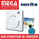 Where To Buy Novita Nap101I Air Purifier With Built In Ionizer Free Filter Pack