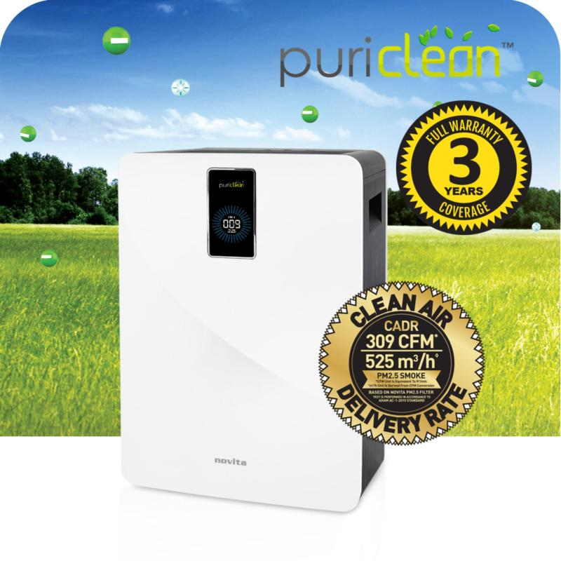 novita PuriClean™ Air Purifier NAP822 - With Laser PM2.5 Display (3 Years Warranty) Singapore