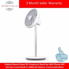 Sale Original Xiaomi Smart Dc Frequency Stand Fan Wifi Phone App Remote Control Built In 2800Mah Battery Comfortable Wind Xiaomi Wholesaler