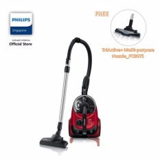 Compare Price Philips Fc8760 61 Powerpro Bagless Vacuum Cleaner Power Cyclone 5 2000W Black Red On Singapore