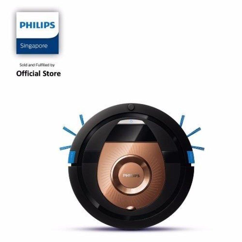 Philips FC8776/01 SmartPro Compact Robot Vacuum Cleaner, 6 cm slim design - Black Singapore