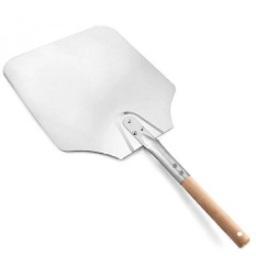 Price Pizza Peel Banne 12 Inch Aluminum Pizza Shovel With 20Cm Wood Handle Intl Not Specified