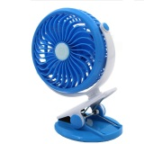 Price Portable Mini Clip On Usb Fan Table Desk Stroller Fan Blue Online Singapore