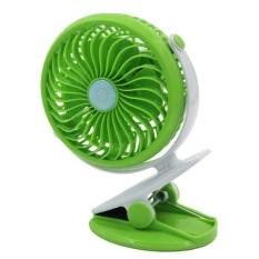 Deals For Portable Mini Clip On Usb Fan Table Desk Stroller Fan Green