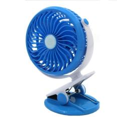 Buy Portable Mini Clip On Usb Stroller Fan Blue On Singapore