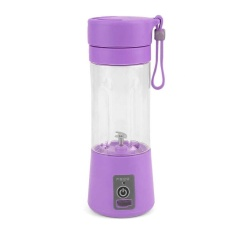 Buying Portable Usb Electric Fruit Citrus Juicer Bottle Handheld Milkshake Smoothie Maker Rechargeable Juice Blender Purple Intl