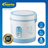 Retail Powerpac 6L Portable Rice Cooker With Stainless Steel Food Tray Pprc09