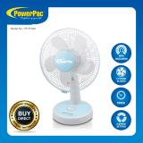 Buy Powerpac 12 Inch Desk Fan With Oscillation Timer Pptf303 Cheap On Singapore