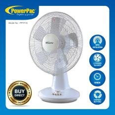 Buy Powerpac 16 Inch Desk Fan With Oscillation Timer Pptf16 Powerpac Cheap