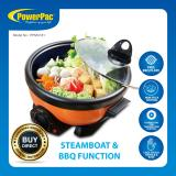 Buy Cheap Powerpac 2L 2In1 Multi Cooker With Steamboat Bbq Function Ppmc181