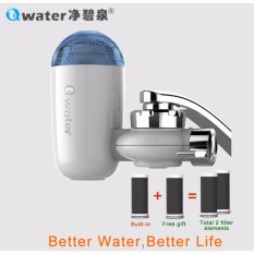 Buying Qwater Household Two Activated Carbon Filters Faucet Mount Water Purifier Intl