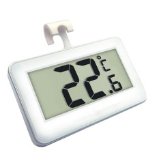 Refrigerator Thermometer, Digital Waterproof Freezer Room Fridge Thermometer, Max/min Record Function With Large Lcd Display, Perfect For Home, Restaurants, Bars, Cafes By Treeone.