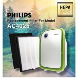 Sale Replacement Hepa And Carbon Filters For Philips Ac4025 Oem On Singapore