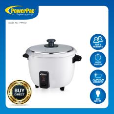 Low Price Powerpac 6L Rice Cooker With Aluminium Inner Pot Pprc2