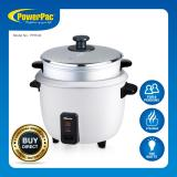 Best Rated Powerpac 1 8L Rice Cooker With Steamer And Aluminium Inner Pot Pprc8