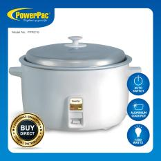 Powerpac 3 6L Rice Cooker With Aluminium Lid Pprc16 For Sale