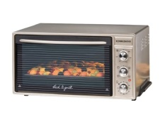 Rommelsbacher Bg 1650 Circulation 40L Oven Silver Review