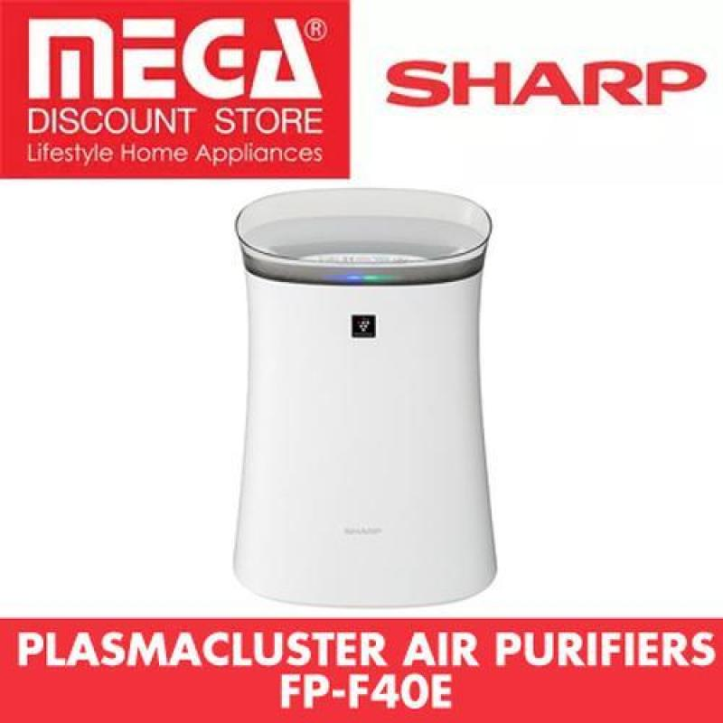 Sharp Fp-F40E-T/W Plasmacluster Air Purifier With Haze Mode And Hepa Filter (White) Singapore