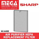 Compare Price Sharp Fz A40Hfe Replacement Hepa Filter For Model Kc A40E On Singapore