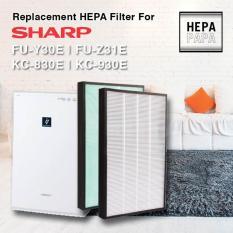 Sharp Kc-830e/kc-930e/fu-Y30e/fu-Z31e/ (economical Dust With Green Pre-Filter) By Hepapapa.
