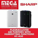 Buy Sharp Kc A50 Air Purifier Humidifier With Hepa Filter White Only Cheap On Singapore