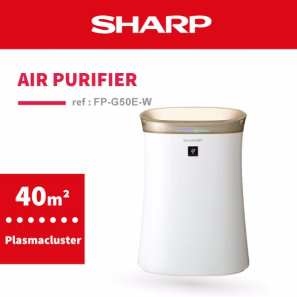 SHARP Plasmacluster Air Purifier FP-G50E-W Singapore