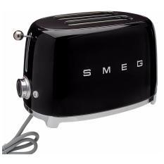 Smeg 50's 2 SLICE TOASTER (BLACK)