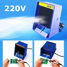 Solder Smoke Absorber Remover Fume Extractor Air Filter Fan For Soldering 220v - Intl By Qiaosha.