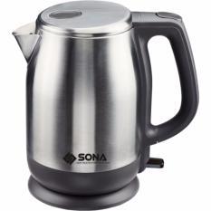 Sale Sona 1 8L Cordless Stainless Steel Kettle Sck 5011 2 Years Warranty Singapore