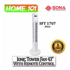 Top 10 Sona Ionic Tower Fan 43 W Remote Ctrl Sft1707 White