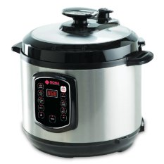 Sona Pressure Cooker Spc2501(black) By Silla Electronics Kingdom.