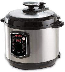 Sona Spc2501 Digital Pressure Cooker 6l By Electronic Empire.