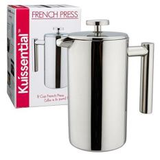 Cheap Stainless Steel French Press Coffee Maker 34Oz Double Wall Insulated Espresso Tea Maker