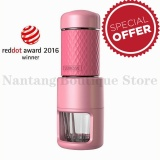 Buy Staresso Espresso Coffee Maker All In One Portable Espresso Cappuccino Quick Cold Brew Manual Coffee Maker Black Green Pink Intl Staresso Online