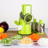 Best Price Swift Rotary Drum Grater Vegetable Cheese Cutter Slicer Shredder Grinder With 3 Interchanging Ultra Sharp Cylinders Stainless Steel Drums Intl