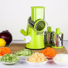 Swift Rotary Drum Grater Vegetable Cheese Cutter Slicer Shredder Grinder With 3 Interchanging Ultra Sharp Cylinders Stainless Steel Drums Intl Online