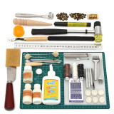 How To Buy Tools Leather Craft Tool Kit Leather Hand Sewing Tool Set Professional