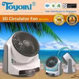 Price Comparison For Toyomi Dcf 5071 3D Oscillation Air Circulator Fan