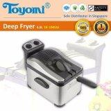 Toyomi Df 1945Ss Deep Fryer S S 4 0L Free Shipping
