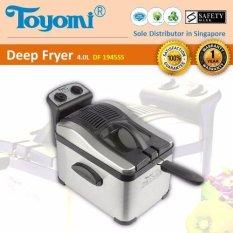 Top 10 Toyomi Df 1945Ss Deep Fryer S S 4 0L