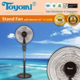 Toyomi Fs 1654R Stand Fan With Remote 16 Black Review