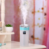 Usb Anion Air Humidifier Aromatherapy Aroma Diffuser 300Ml Capacity Cup 2 Mist Modes For Essential Oil For Office Car Home Use Blue Intl Oem Discount