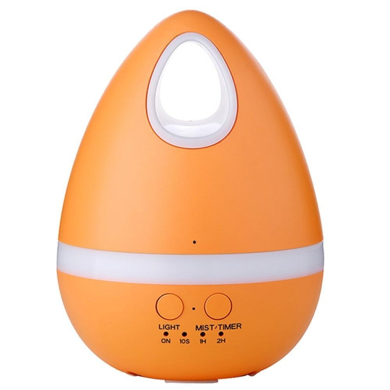 weisizhong 200ml Aromatherapy Essential Oil Diffuser Ultrasonic Cool Mist Humidifier Diffusers with Adjustable Mist Mode, Waterless Auto Shut-off and 7 Color LED Lights Changing for Home Office Baby - intl Singapore