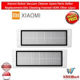 Buy Xiaomi Robot Vacuum Cleaner Spare Parts Roller Replacement Kits Cleaning Framed Hepa Filter X2Pcs Singapore