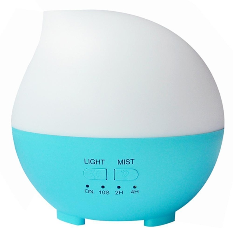 yesefus Essential Oil Diffuser, 300ml Ultrasonic Diffusers Cool Mist Aroma Humidifier with Adjustable Mist Mode, Waterless Auto Shut-off and 7 Color LED Lights Changing for Home Office Bedroom - intl Singapore