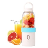 Promo Yooc 550Ml Portable Usb Juicer Cup Personal Blender Fruit Mixing Machine Eletric Rechargeable Mixer Juice Blender Water Bottle For Home Traveling Working Outdoors Intl