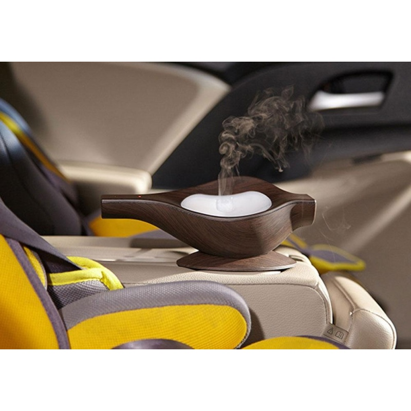 yuwen USB Aromatherapy Essential Oil Diffuser Air Humidifier For Car(Deep Wood) - intl Singapore