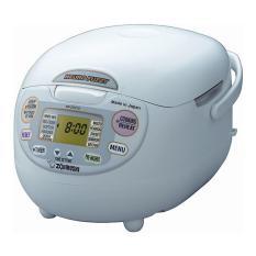 Compare Price Zojirushi 1 0L Micom Fuzzy Logic Rice Cooker Warmer Nszaq10Wz Premium White Zojirushi On Singapore